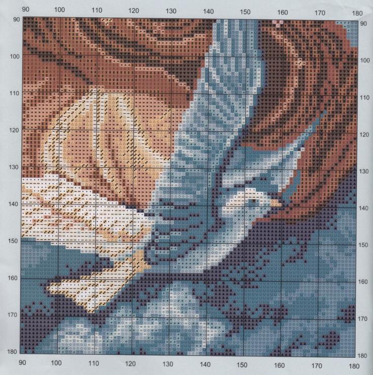 Алые паруса схемы вышивки крестиком 36
