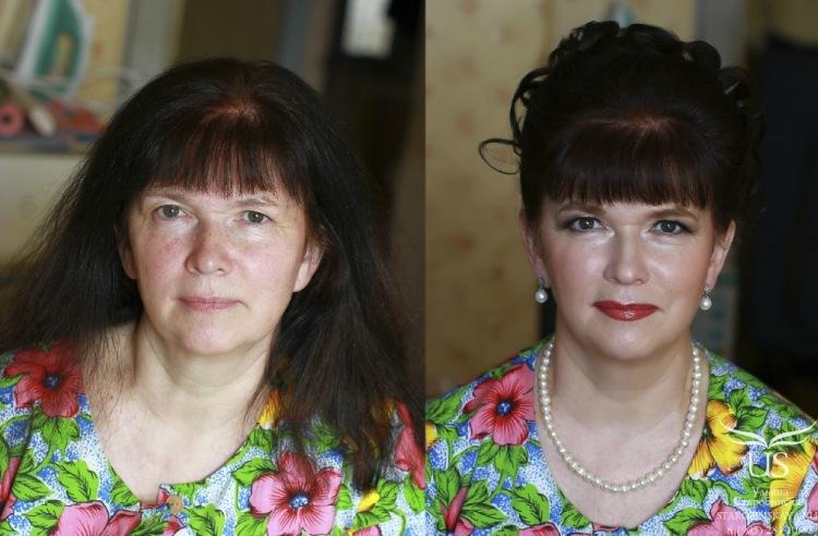 Прически на день рождения с челкой на средние волосы